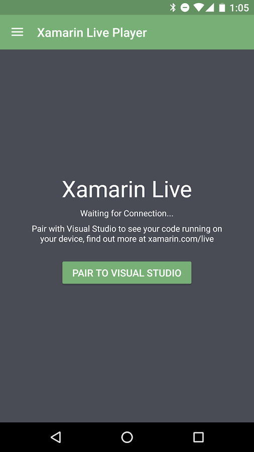 Xamarin Live Player (Unreleased)- screenshot