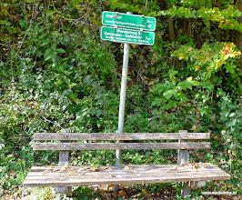 Photo: der traunwanderweg kreuzt hier unten und flussabwärts kommt man nach ohlsdorf, oder in die kohlwehr bei steyrermühl