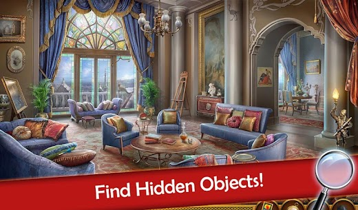 Hidden Objects: Mystery Society Crime Solving 8