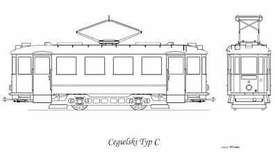 Photo: W 1937 roku odebrano 10 zamówionych wozów z fabryki Cegielskiego. Były identyczne co wcześniej zamówione wagony Zieleniewskiego. Oznaczenie C przyjęły dopiero po wojnie.