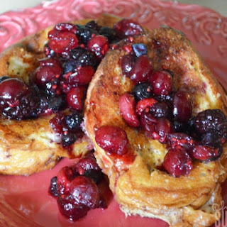 Cream Cheese Stuffed Berry French Toast Bake Recipe and more!
