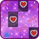 Glitter Piano Heart Tiles Love Sparkle Music Songs