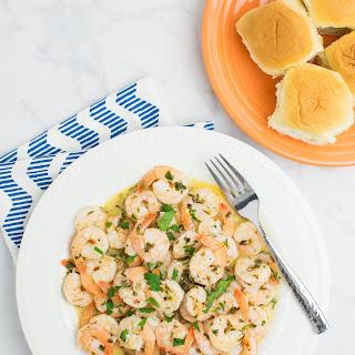 Easy Garlic Butter Shrimp.
