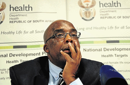 Aaron Motsoaledi. Picture: THE SOWETAN