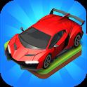 Merge Car game free idle tycoon icon