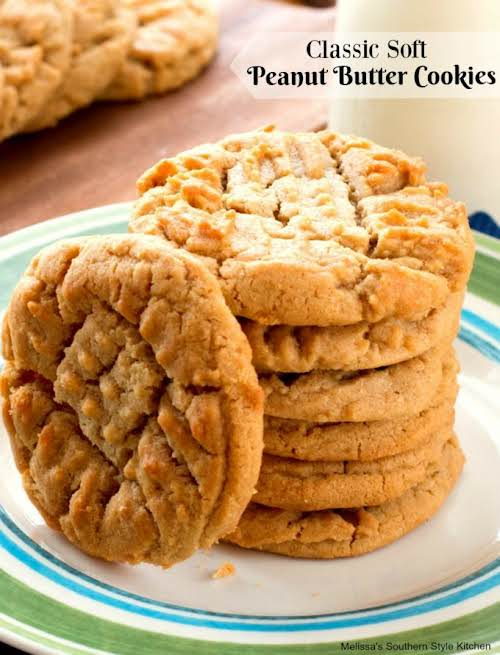 "Click Here for Recipe: Classic Soft Peanut Butter Cookies ""These Classic Soft..."