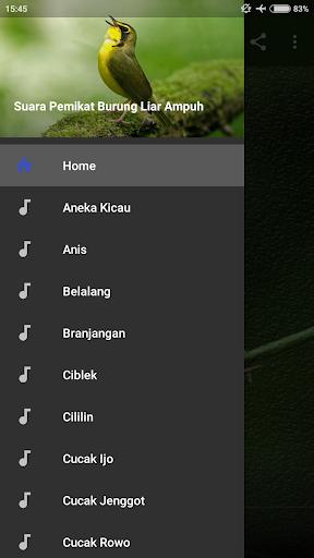 Suara Pemikat Burung Liar Ampuh screenshots 1