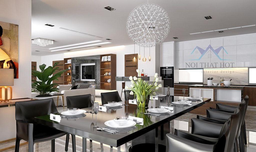 thiết kế nội thất chung cư lịch sự