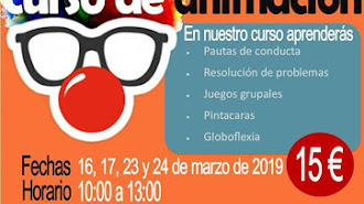 Cartel Curso de Animación de Kids and Big.