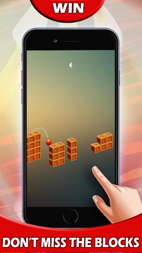 ???? Red Jumpy Ball Kill Time ????|玩棋類遊戲App免費|玩APPs