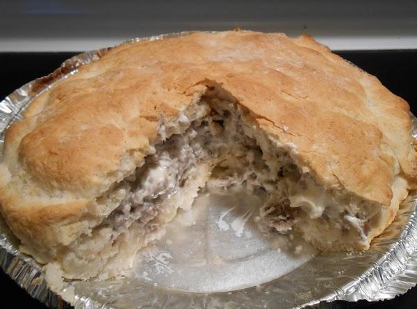 Sausage & Cream Cheese Bisquick Pie Recipe