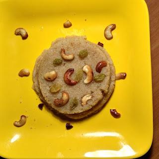 Suji / Sooji ki Halwa - a popular dessert.