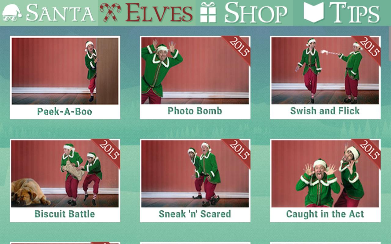 Santa Spy Cam: captura de pantalla