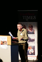 Photo: Andy Cartwright introduces the Charles Parker Day 2014