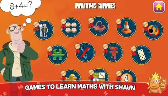 Shaun learning games for kids- screenshot thumbnail