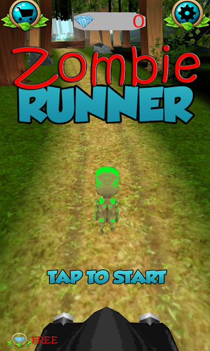 Zombie Run - running games