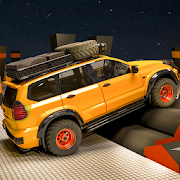 Fury Monster Jeep Parking : Offroad Truck Driving