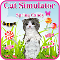 chat simulateur :jeu de bonbon icon