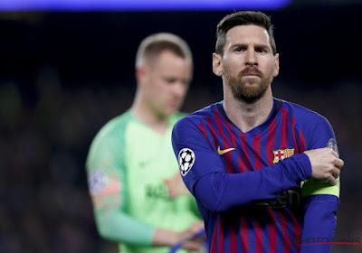 Même Messi salue Ronaldo et la Juventus
