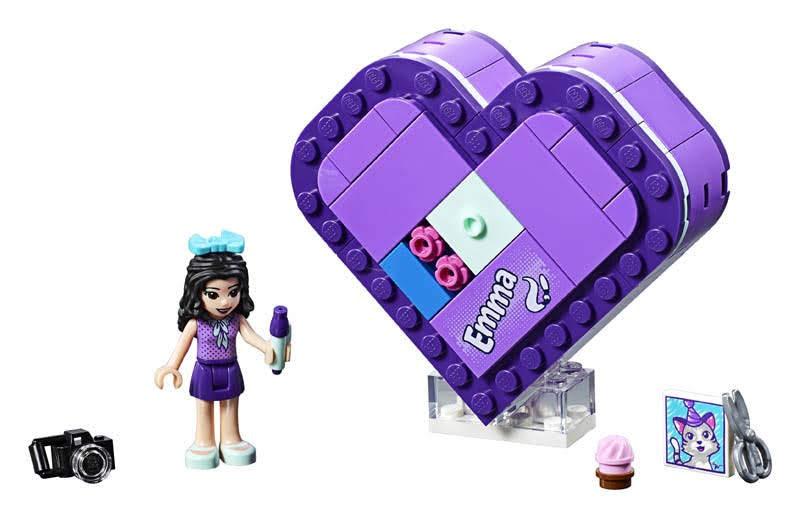 Contenido de Lego® 41355 Caja Corazón de Enma