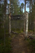 Photo: Entering Lapland