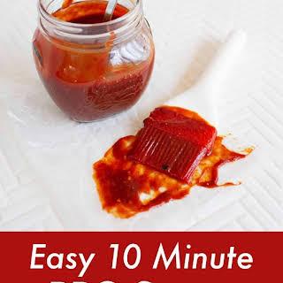 10 Minute BBQ Sauce.