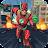 Super Light Speed Hero Robot Combat Icône
