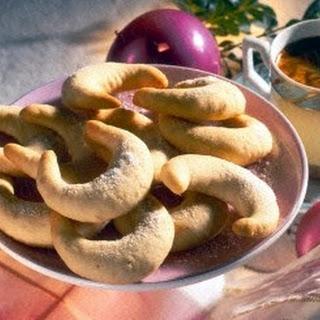 Erdnuss-Kipferl für Diabetiker