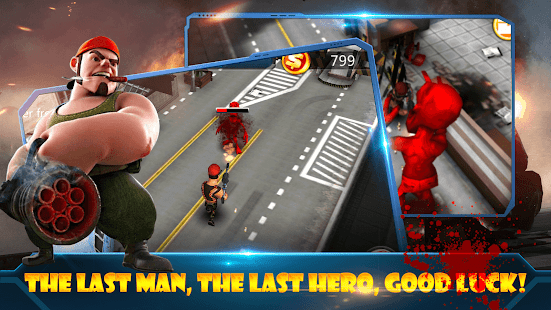 Zombie Street Battle Screenshot