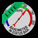 Barometer In Status Bar Lite icon