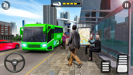 City Coach Bus Simulator 2020 - PvP Free Bus Games apkdebit screenshots 3