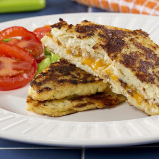 Low-Carb Grilled Cheese.