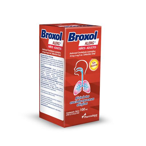 Ambroxol + Loratadina Broxol Alerg 30-5mg/5ml Jarabe 100ml La Sante