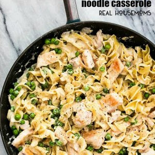 Skillet Chicken Noodle Casserole.