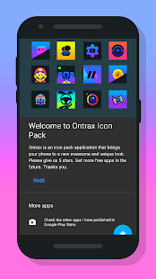 Ontrax - Icon Pack Screenshot