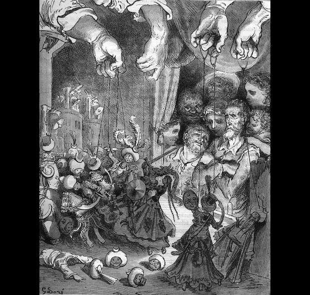 Gustave Doré's hallucinogenic 1863 engraving.