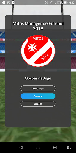 Mitos Soccer Manager 2019 screenshot 1