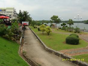 Photo: Die Strandpromenade an der Klongkha Road  -  Krabi