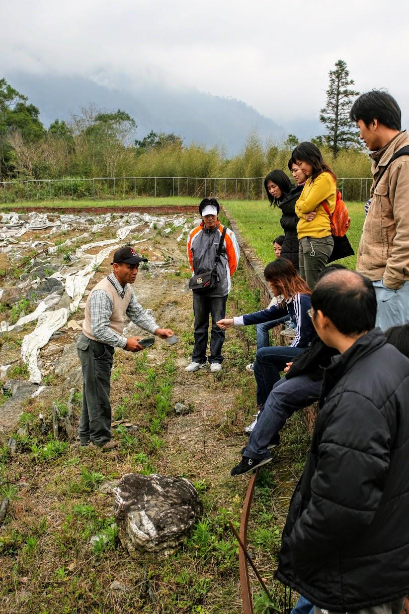 由萬豐村的村長-廖金池廖爸爸負責解說,廖爸爸也負責晚上的住宿和隔日的導覽