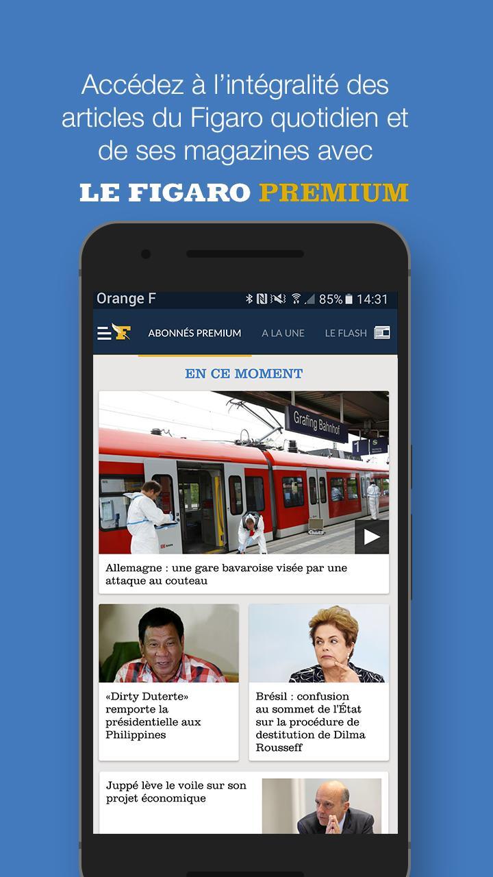 Le Figaro.fr: Actu en direct Screenshot 4