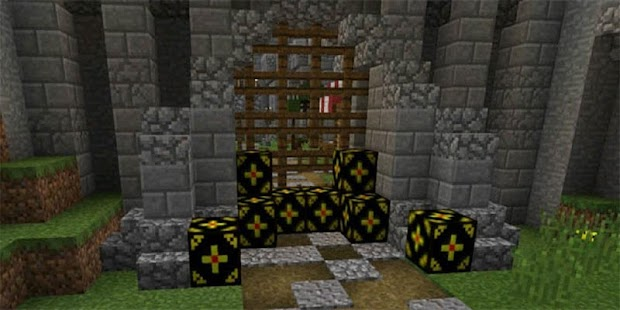 Remote Explosives Mod for Minecraft PE - náhled