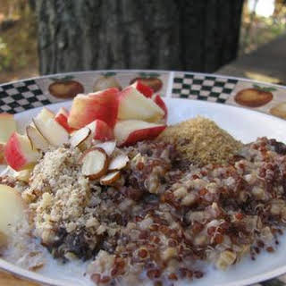 Quinoa and Steel Cut Oats.