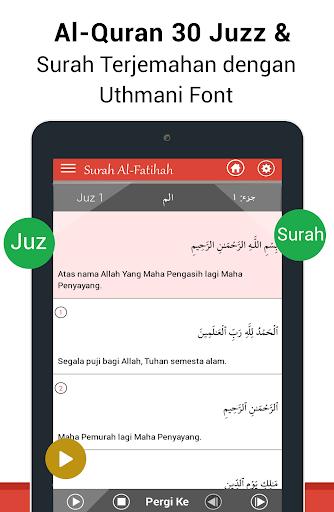 Al Quran Bahasa Indonesia MP3 screenshot 8