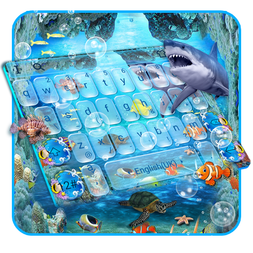 Blue Ocean Aquarium Keyboard Theme Android APK Download Free By Bs28patel