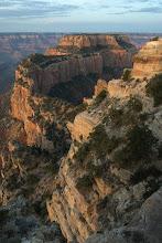 Photo: Lone photographer at Cape Royal, Grand Canyon
