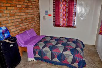 Photo: Moje postel. Až přijedou kluci, bude to jejich ložnice.
