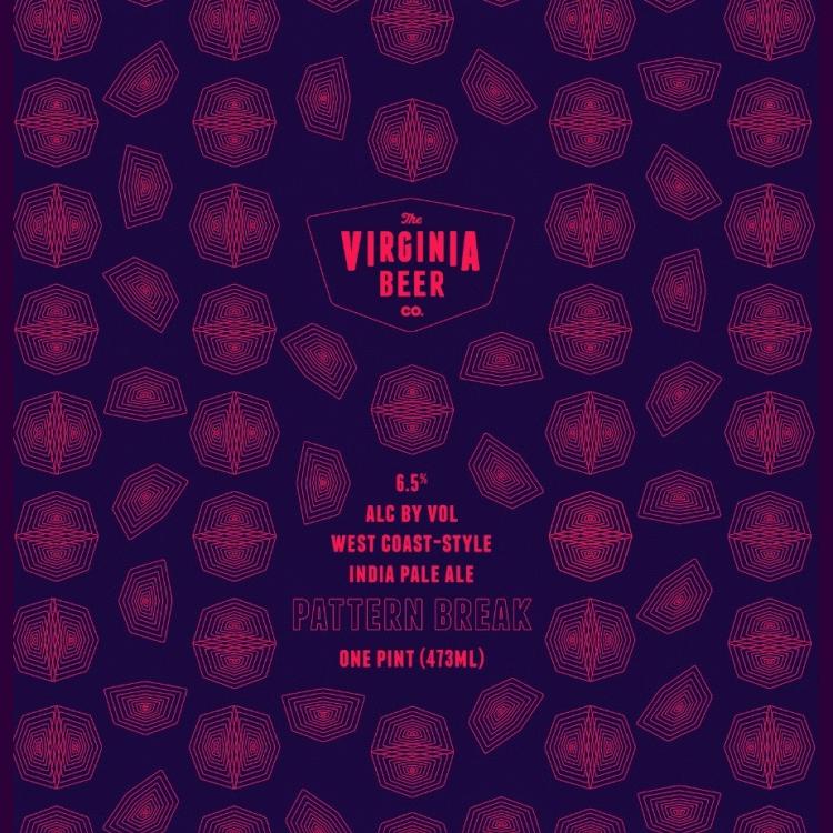 Logo of Virginia Beer Co. Pattern Break West Coast IPA