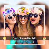 Flower Crown Photo Maker