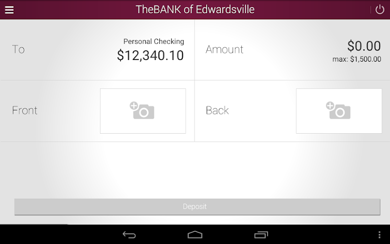 android The BANK of Edwardsville Screenshot 14