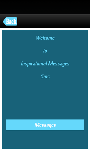 Inspirational Message And Sms